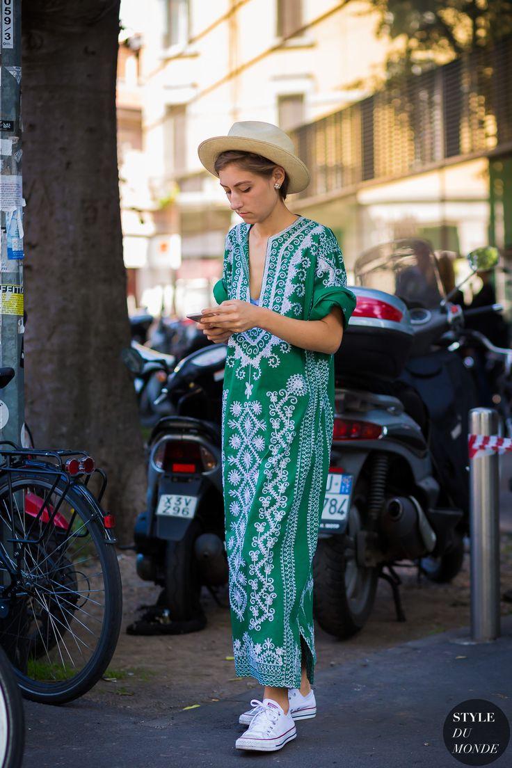 Jenny Walton Street Style Street Fashion Streetsnaps by STYLEDUMONDE Street Style Fashion Photography