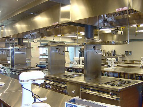 41 best precedents culinary art college images on - Professional home kitchen design ...