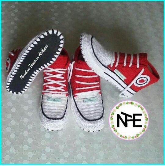 Elişi, örgü converse ayakkabı shoe, shoes, slipper, bot, boot, boat, boties, slipper, stiletto