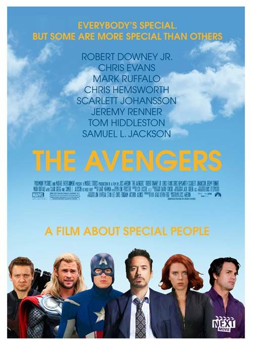 The #Avengers get the indie treatment, LOL.