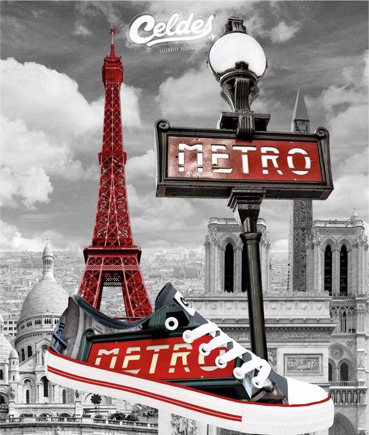 La vie est belle à Paris❣️ Enjoy Paris at: http://celdes.com/all/133-paris-subway.html #exploreceldes #paris #lavieestbelle