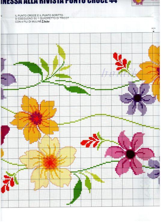 flower and butterfly runner 5/5
