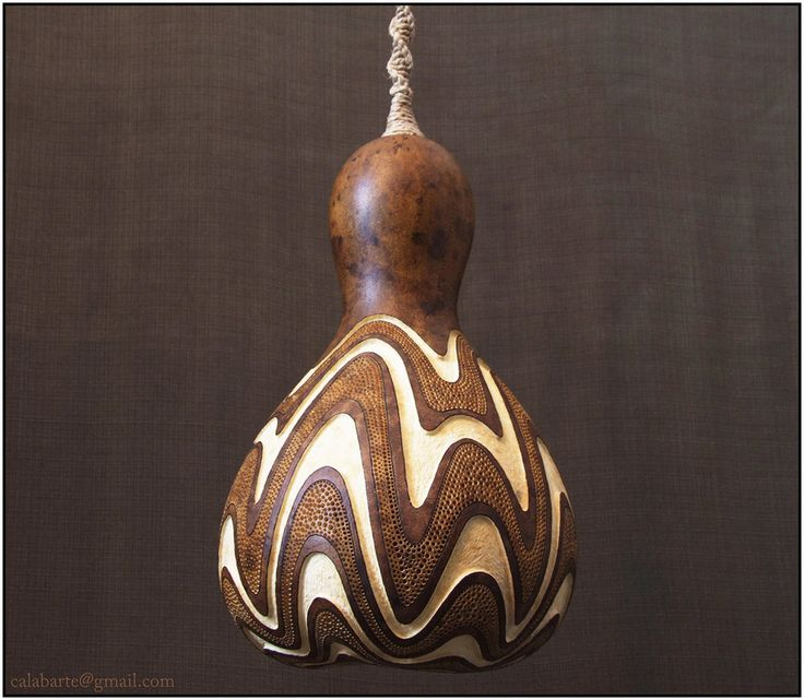 Gourd Art Patterns | Unusual patterns are designed with fine attention to deeper or ...