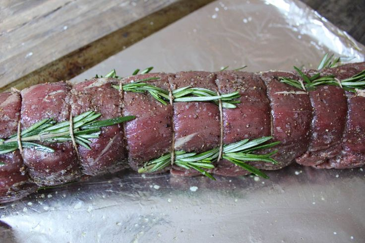 Slow-Roasted Beef Tenderloin with Rosemary - Domesticate ME!