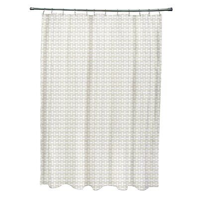 e by design Geometric Single Shower Curtain  – Products