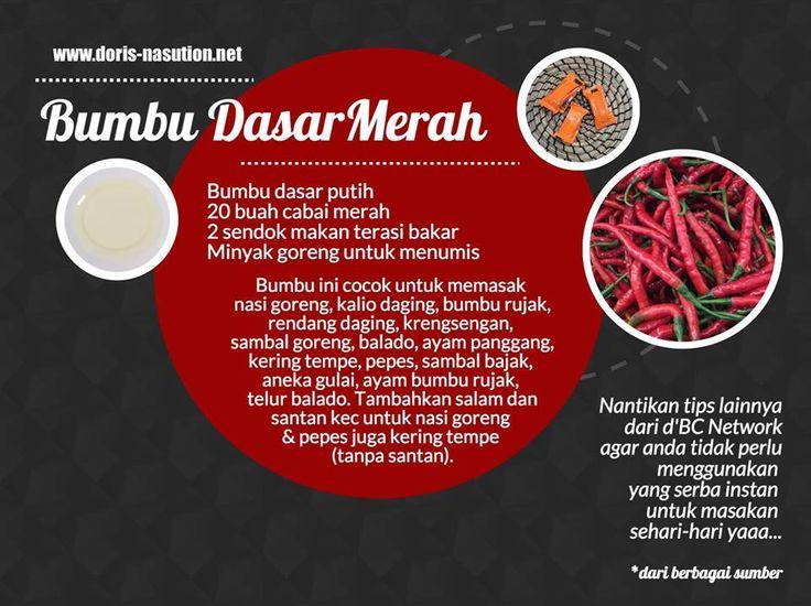 Bumbu Dasar: Merah (in Indonesian)