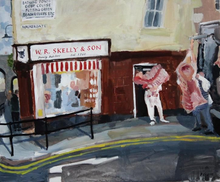 'Meat Delivery' by Brita Granström from 'Butcher, Baker, Cockle Sweet-Maker: Portraits from Berwick upon Tweed'