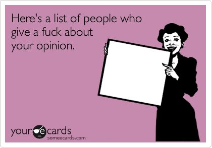 .: Eecards, Riddle, Opinion