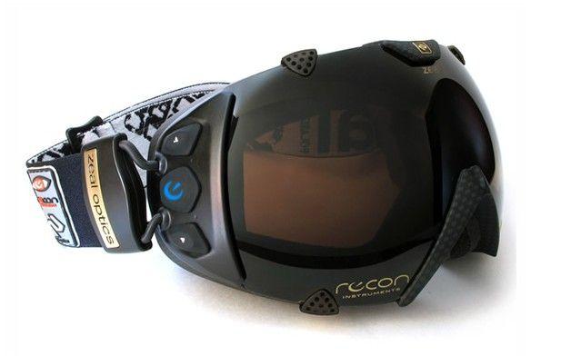 Masque de ski avec gps intégré