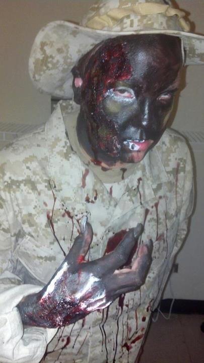 Salon Success Academy Halloween makeup contest 2012! #salonsuccess #Halloween #makeup #spooky #beautyschool #cosmetology