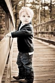 toddler pic. Could do this on the bridge at AppleWorks.