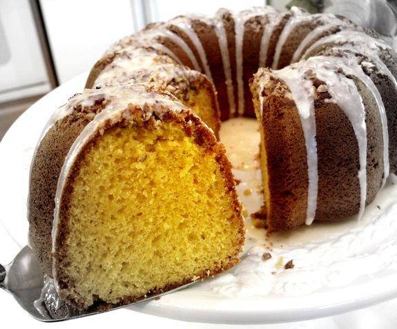 7 Up Cake with Orange Glaze | Noble Pig