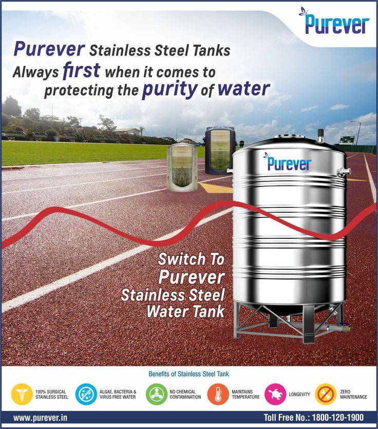 #PUREVER#Always#First#When it comes #To Protecting#Purity#Of Water#Switch to# PUREVER Stainless Steel Water Tank#http://www.purever.in/