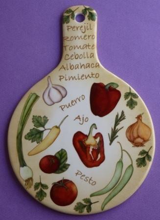 Reina Chula: Pintura sobre Porcelana - Trabajos Realizados