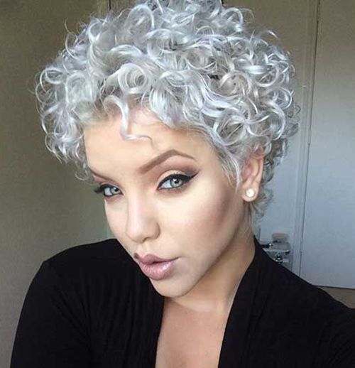 short men hair style 7 besten hairs bilder auf damen frisuren und 9805 | 2e0351519ee9805b3b6bd39dc8535032 shower cap short curly hairstyles