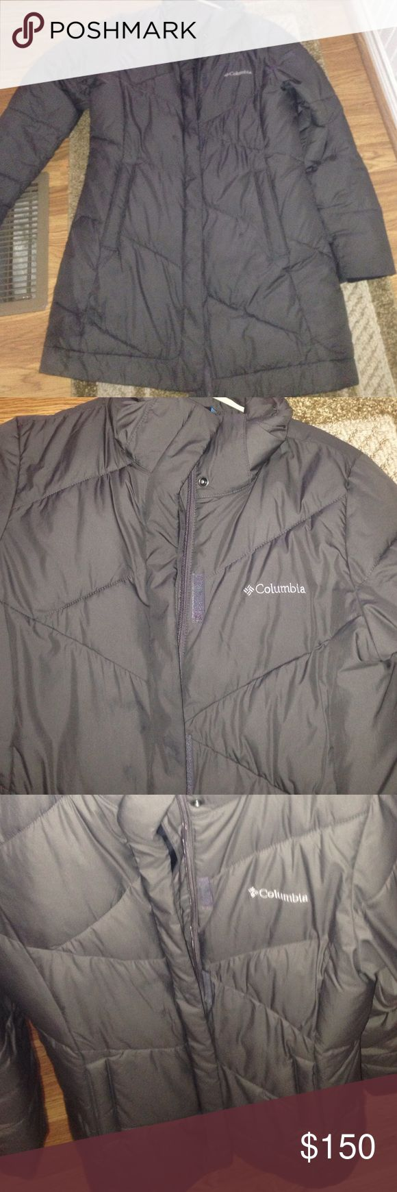 Like new Columbia parka! super warm (even in the cold Michigan winters) parka, great condition! Pretty gray color Columbia Jackets & Coats