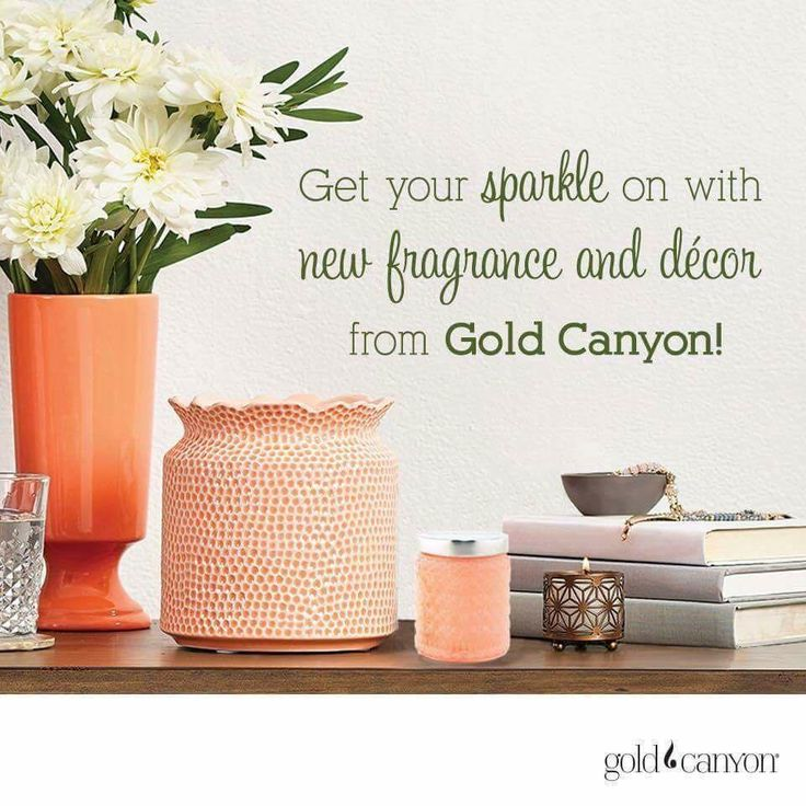 Get your sparkle on with new fragrance and decor from Gold Canyon Candles & Home .. come visit me on facebook!