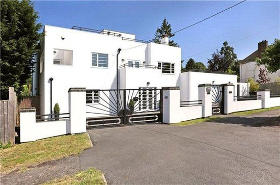 The White House 1930s art deco property in Oxford, Oxfordshire
