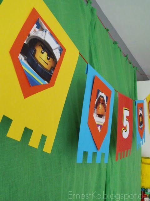 ErnestKa: Lego, Ritter und ganz viel Freude- Unser Nexo Knights- Geburtstag