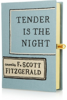 Clever! Tender Is The Night embroidered clutch
