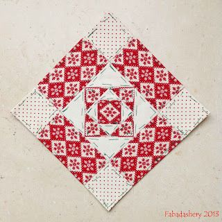 Fabadashery: Nearly Insane Quilt - Block 40