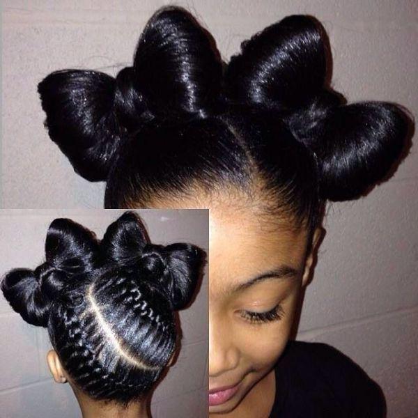 Stupendous 1000 Ideas About Bow Braid On Pinterest Braids Cute Girls Hairstyles For Women Draintrainus