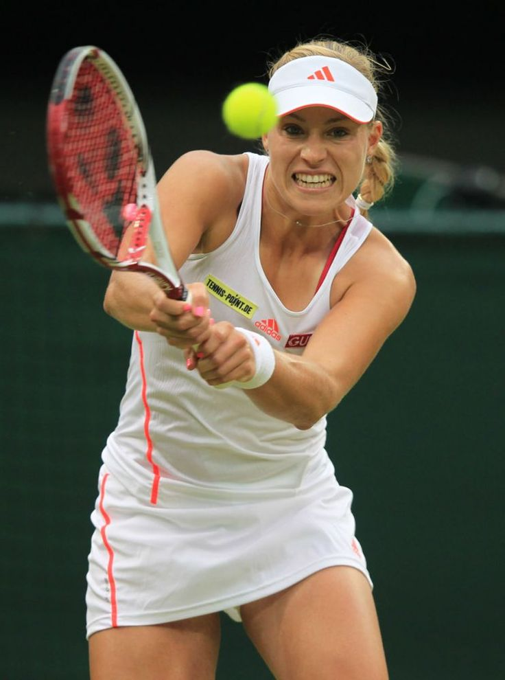 Kerber at Wimbledon 2012