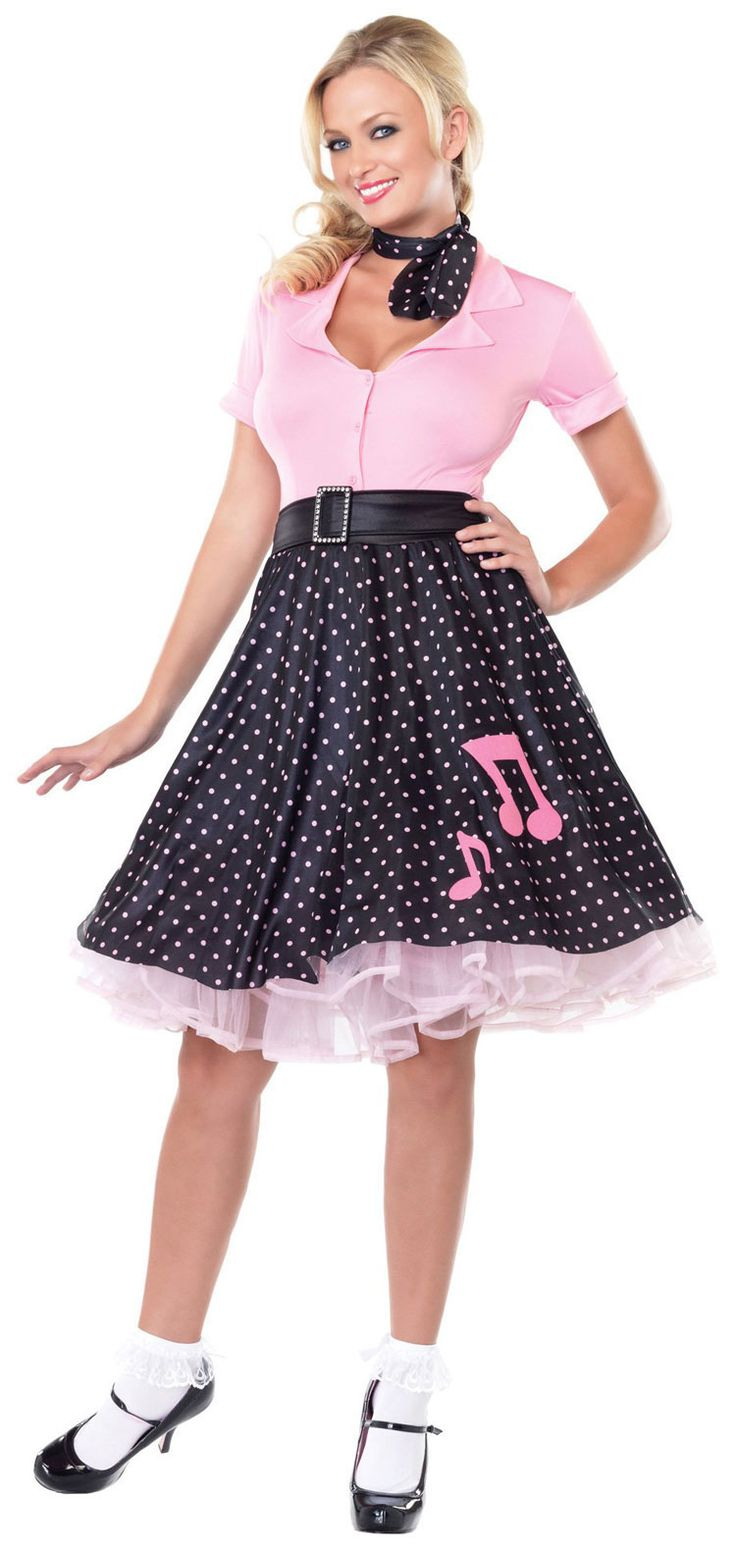 Another Cute Sock Hop Outfit Grease Fancy Dress