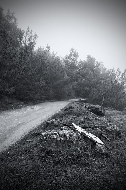 lost in the mist, Samos island, Greece