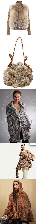 Вязание мехом. Как сделать меховую пряжу..