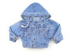 2T-3T / Hooded jean jacket / Veste denim a capuchon | Changeroo.ca