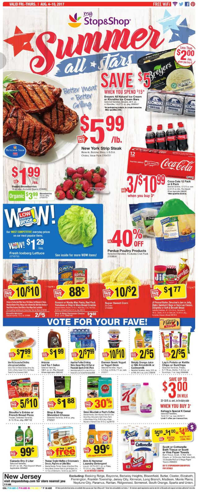 Stop and Shop Circular August 4 - 10, 2017 - http://www.olcatalog.com/grocery/stop-and-shop-circular.html