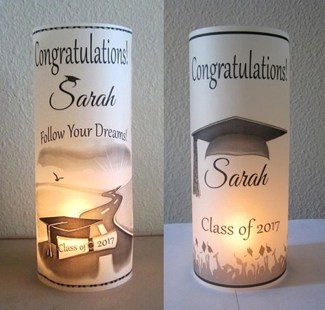 12 Personalized Graduation Party Centerpiece Table Decoration