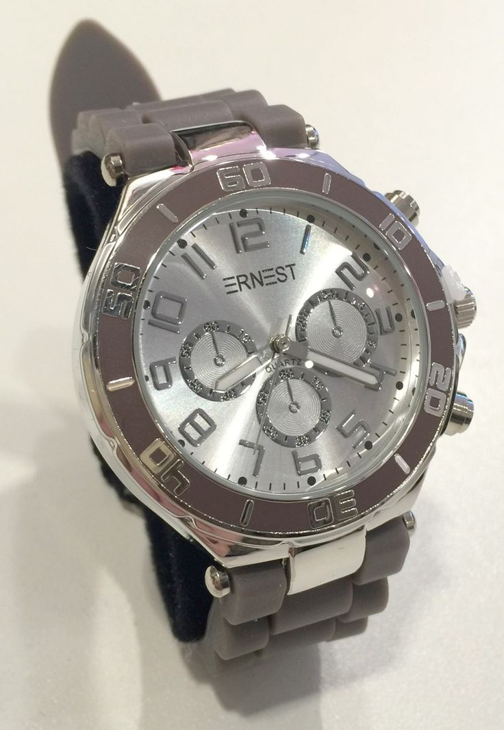 Ernest horloge met siliconen band