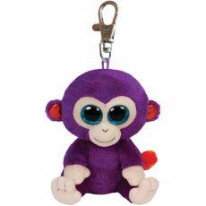 Ty Beanie Boo Grapes aap sleutelhanger 8,5 cm poppen & knuffels speelgoed - Vivolanda
