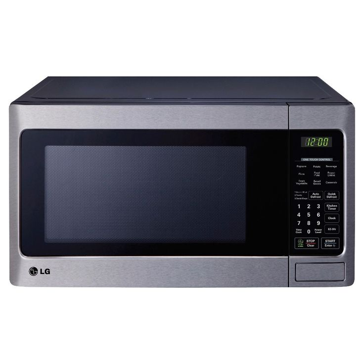 LG 1.1 Cu. Ft. 1000 Watt Microwave Oven - Stainless Steel (Silver) LCS1112ST