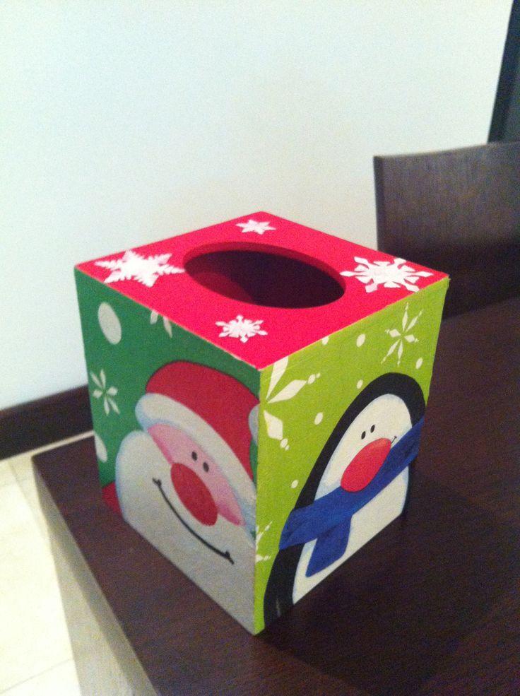 Christmas kleenex box