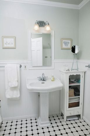 Las 25 mejores ideas sobre ba os vintage en pinterest y for Small old bathroom ideas