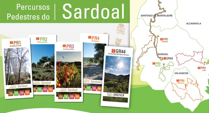Turismo Sardoal - PERCURSOS PEDESTRES
