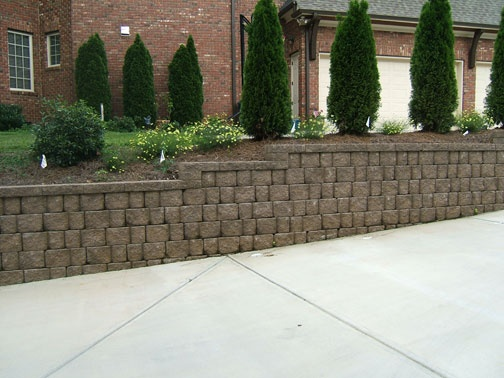 RidgeRock Retaining Walls   Photo Gallery