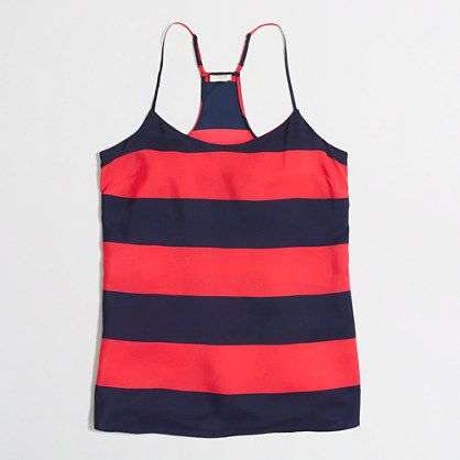 J.Crew+Factory+-+Factory+printed+racerback+camisole