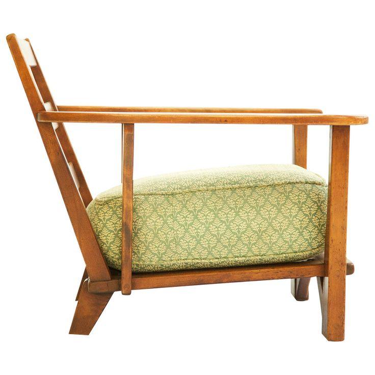Cushman Paddle Arm Lounge Chair