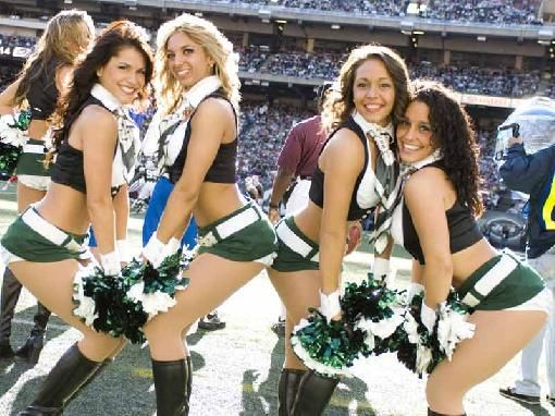New York Jets Cheerleaders | New York Jets Cheerleaders Picture - NFL Photo #14187