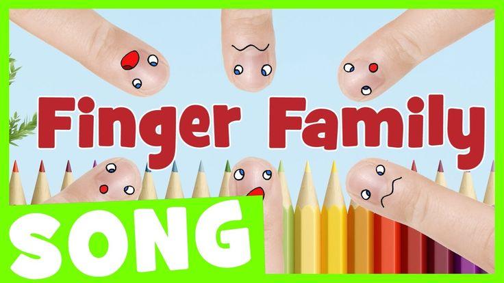 Finger Family Song for Kids | Nursery Rhyme for Kids