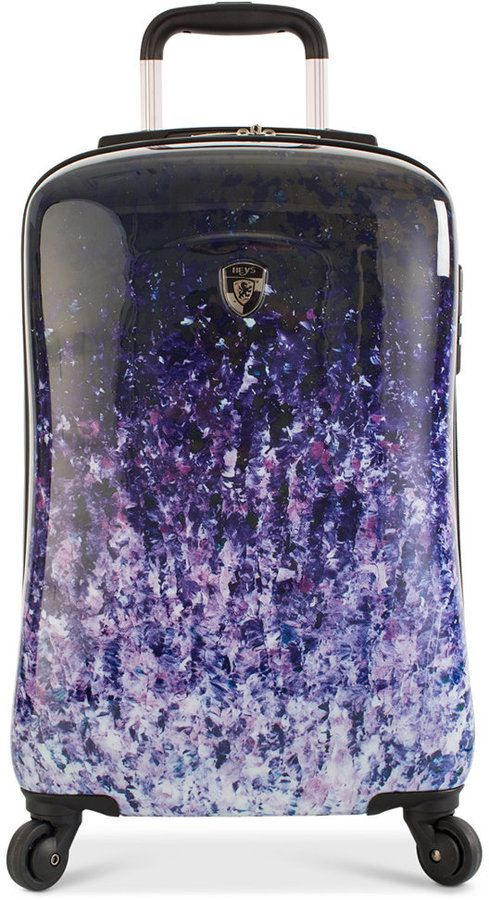 "Heys Ombre Dusk 21"" Carry-On Expandable Hardside Spinner Suitcase"