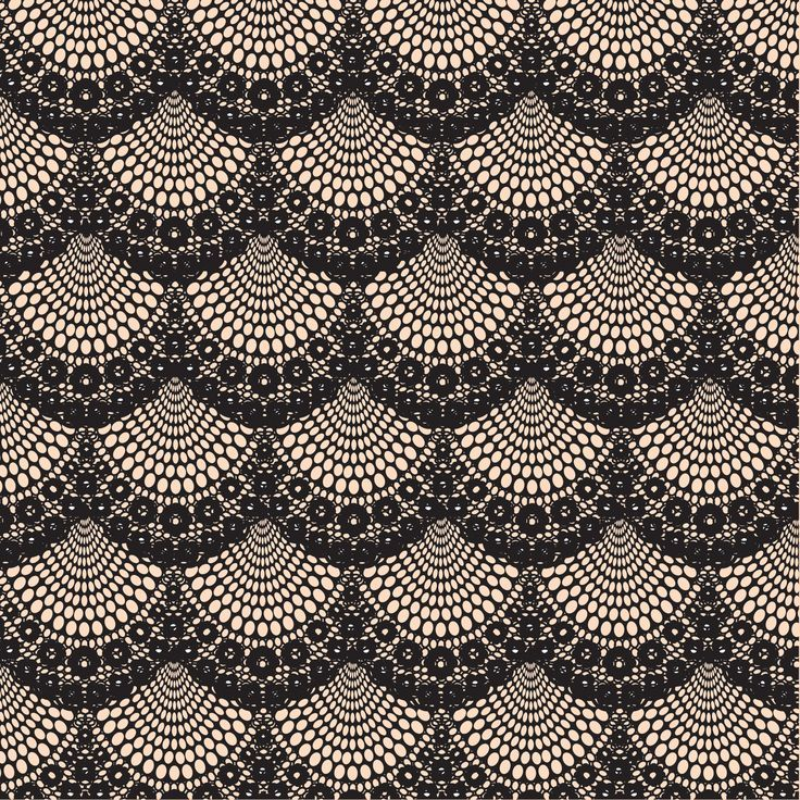 Antique lace black. Vintage
