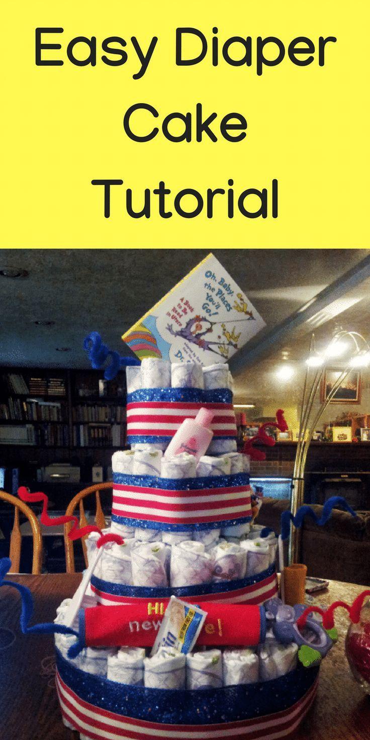 Diaper cake tutorial diy diaper cake diaper decorations baby diaper cake tutorial diy diaper cake diaper decorations baby shower baby shower solutioingenieria Gallery