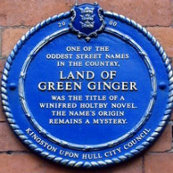 Street name plaque, HULL