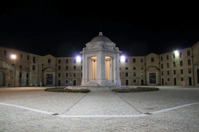 Mole Vanvitelliana, Ancona: The Lazzaretto (Luigi Vanvitelli, 1732) built to protect the authorities from the risk of contagious diseases  Le Marche