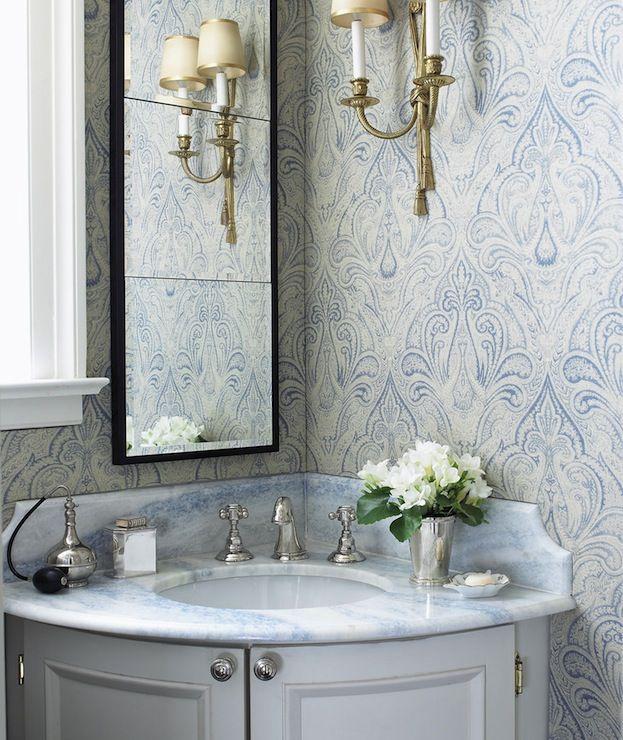 7 best corner bathroom vanities images on pinterest | bathroom